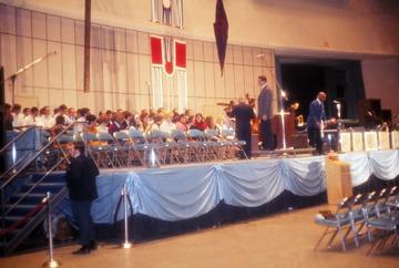 University of Detroit Chorus Collection: Duke Ellington Concert Rehearsal - 1969