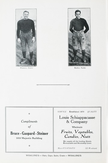 University of Detroit Football Collection: University of Detroit vs. Georgetown