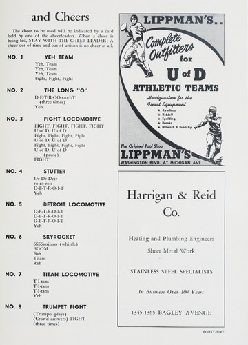 University of Detroit Football Collection: University of Detroit vs. Boston College